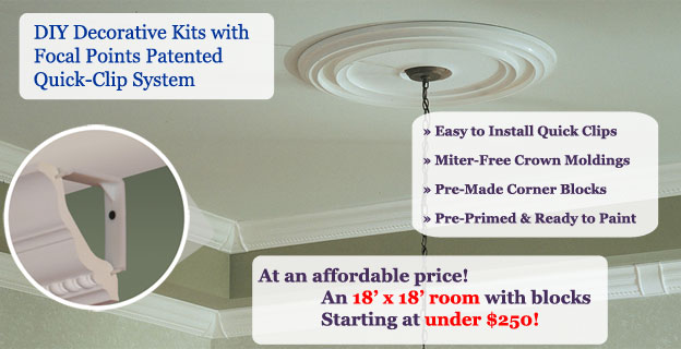 Crown Molding for Sale | Architectural Ornaments | Classic Ceilings