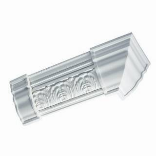 Georgian Crown Connector Moulding Mates Block - 21403