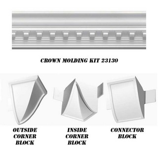 Concord Dentil Crown DIY Home Kit - 23130-Kit