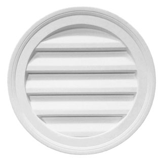Decorative Round Louver - 66R-24