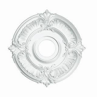18 in. Acanthus Medallion - 81018