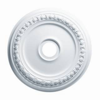 31 in. Shell & Bellflower Medallion - 83431