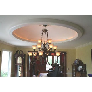Plain Elliptical Light Cove Dome - DM9906-56