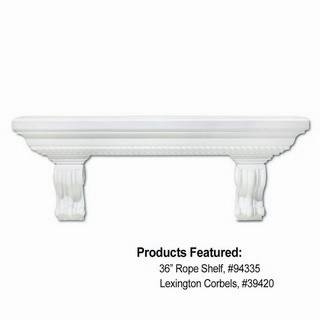 36 in. Dentil Shelf - 94435