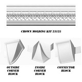 23125-Kit - Acropolis Crown Moulding DIY Home Kit