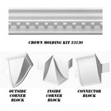 23130-Kit - Concord Dentil Crown DIY Home Kit