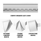23600-Kit - Concord Dentil Crown DIY Home Kit