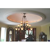 DM9906-80 - Plain Elliptical Light Cove Dome