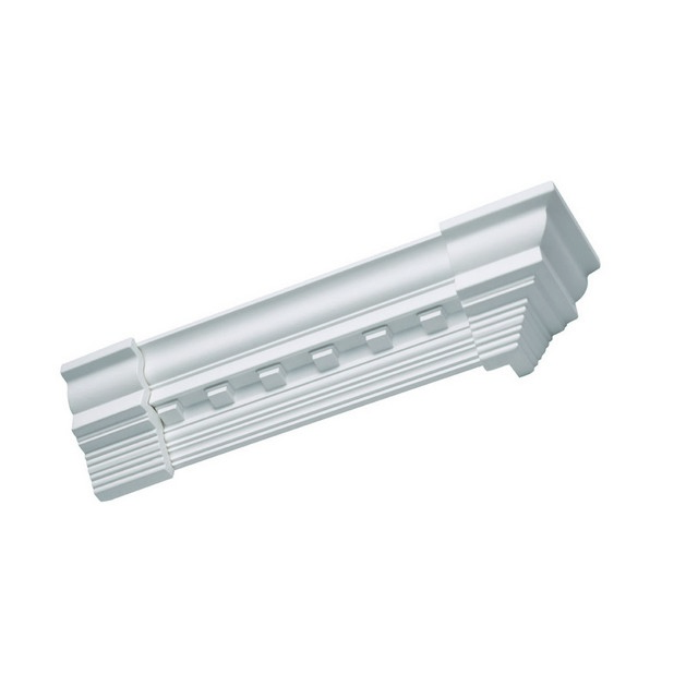 Focal Point's Concord Dentil Crown Inside Corner Moulding