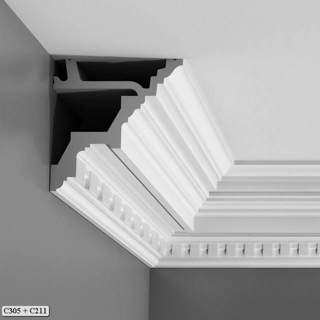 orac decor crown molding luxxus crown molding c211 c211. Black Bedroom Furniture Sets. Home Design Ideas
