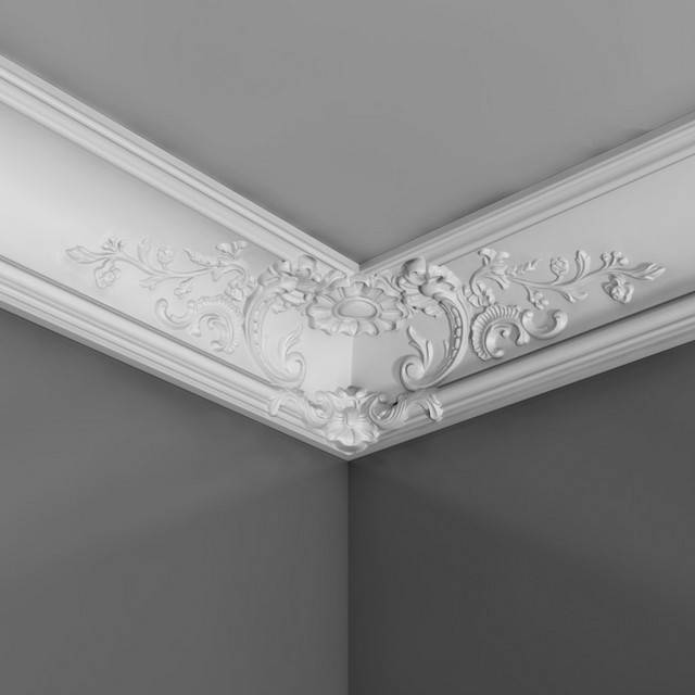 orac decor 39 s luxxus crown molding c338b c338b crown moulding for sale. Black Bedroom Furniture Sets. Home Design Ideas