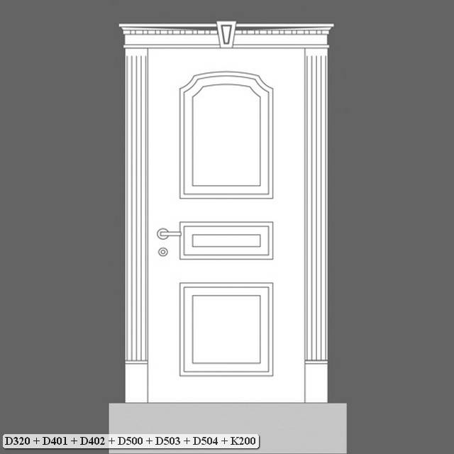 Orac Decor Plinth: Luxxus Pilaster Plinth D320 (D320)