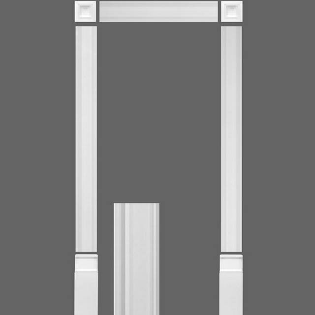 Orac decor pilaster luxxus pilaster door frame kit kx003 for Door frame kit